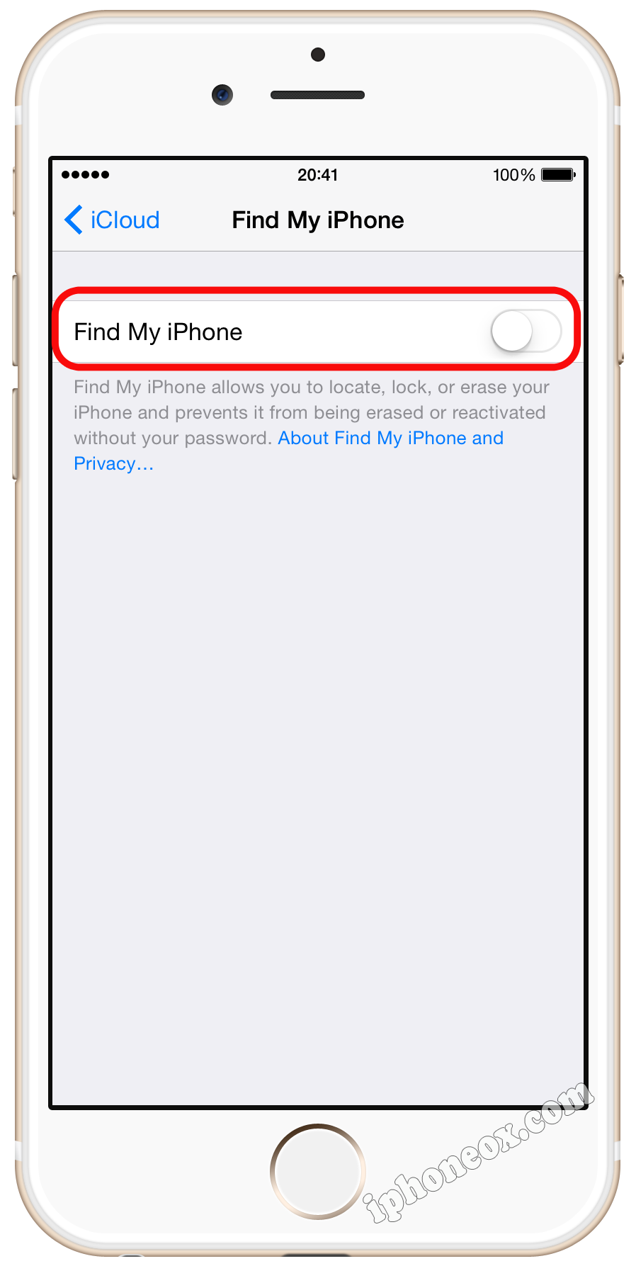 turn off find my iphone from icloud what to do before you sell iphone 20527